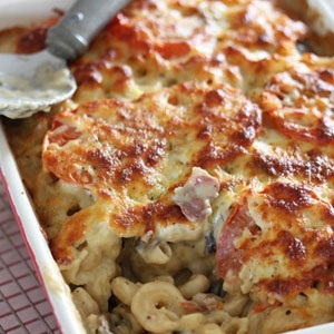 Bubbling Bacon Mac And Cheese Food24
