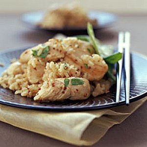 Honey Mustard Chicken With Brown Rice Food24
