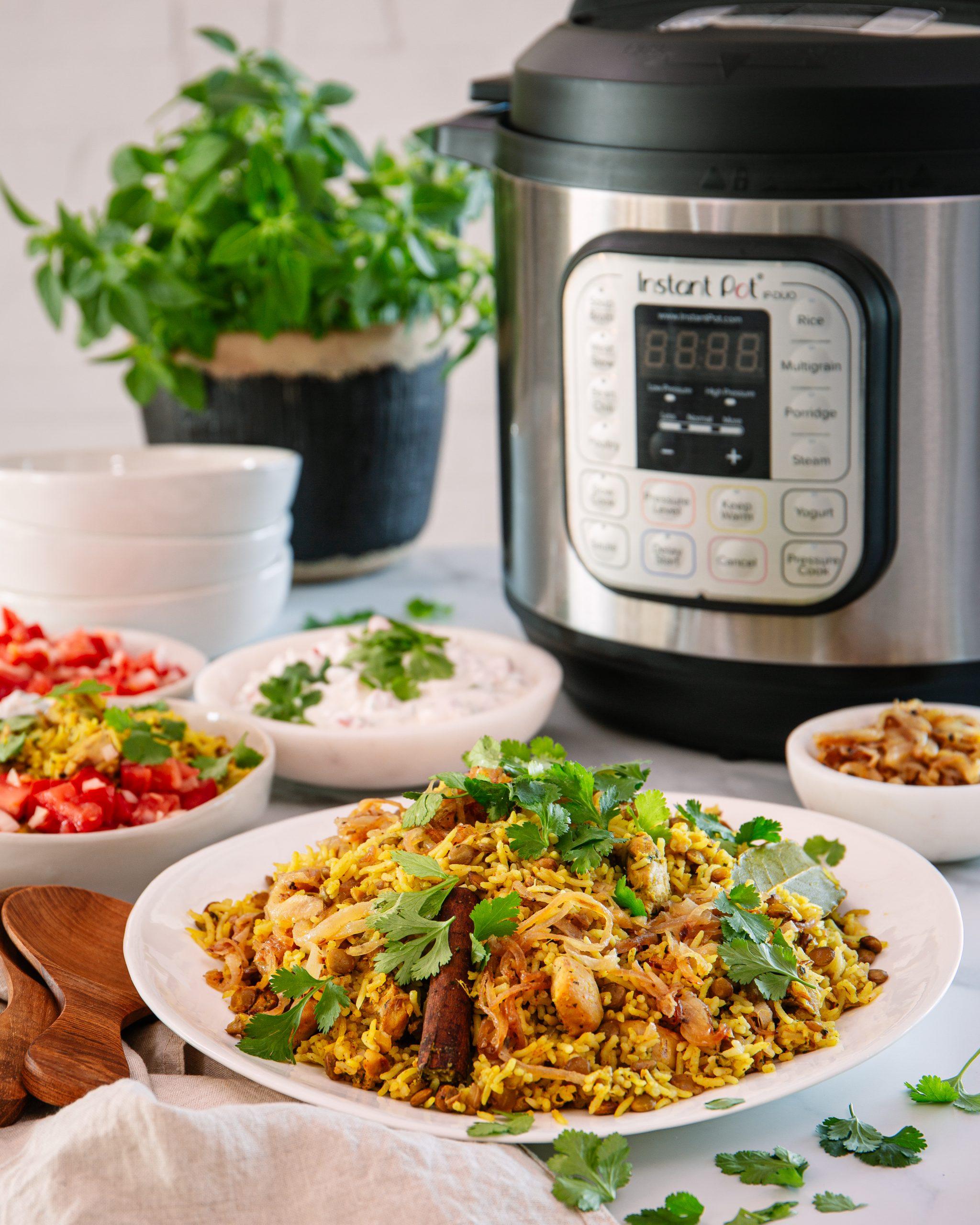 Instant Pot Chicken Briyani recipe