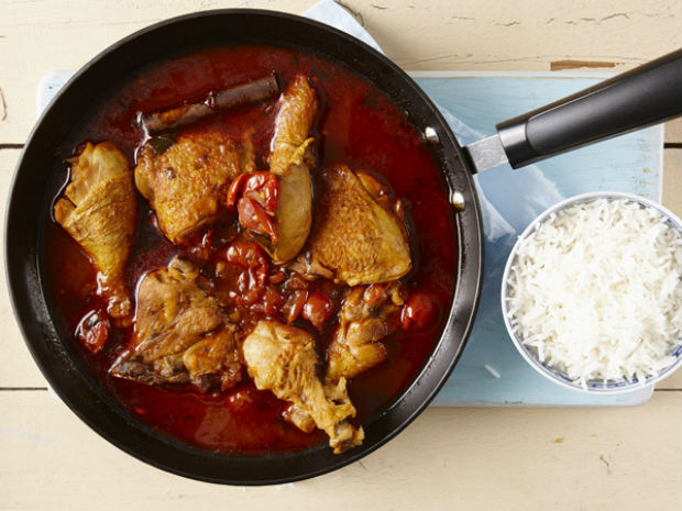 one-pot chicken curry