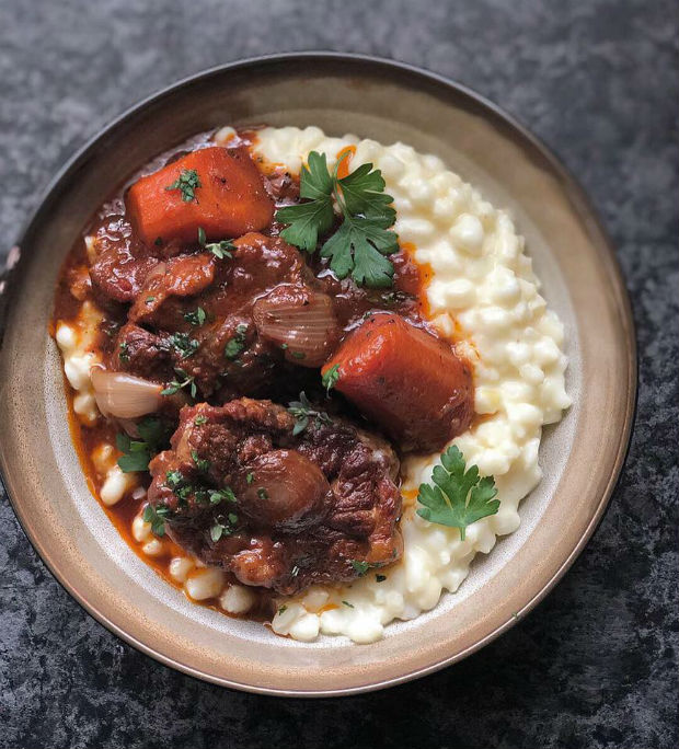 oxtail and creamy samp recipe