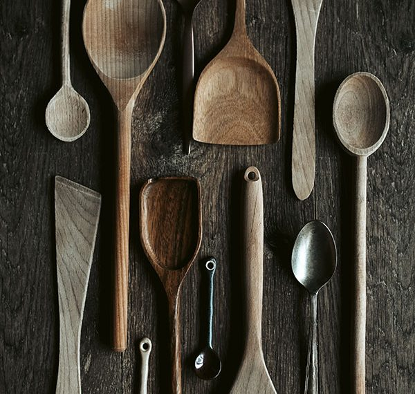 cutlery selection