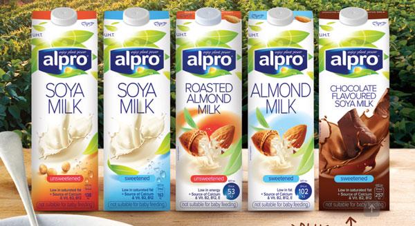 Alpro milk