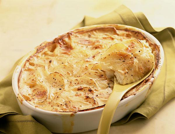 golden potato bake