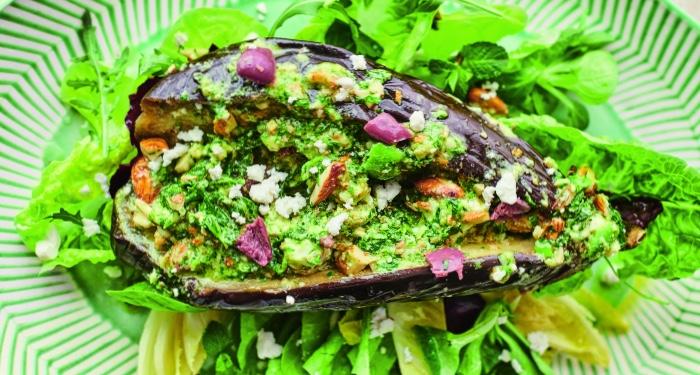 Jamie Oliver S Moreish Aubergine Salad Food24