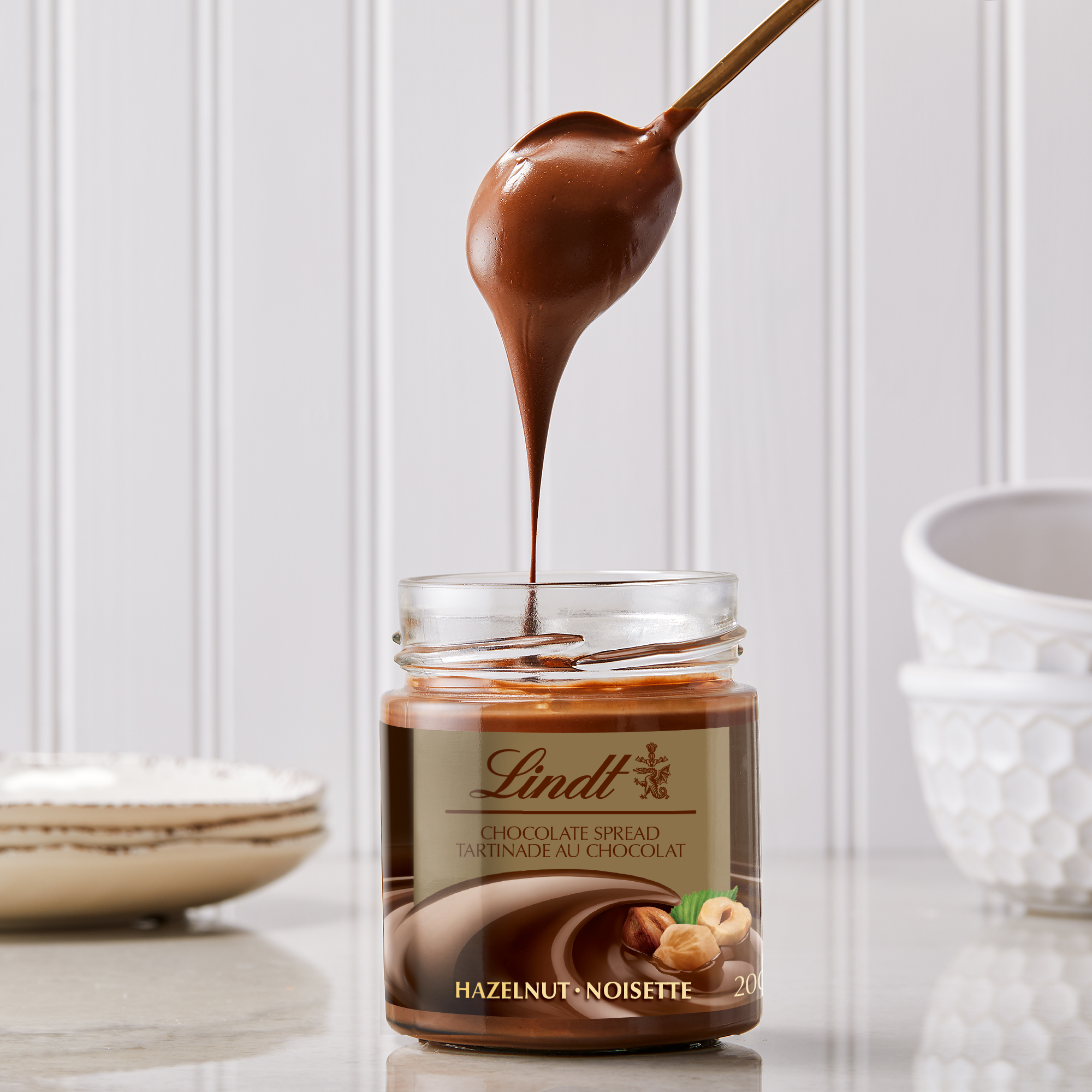 Lindt chocolate as a spread? Yes please