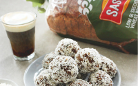 Seeded whole-wheat date balls