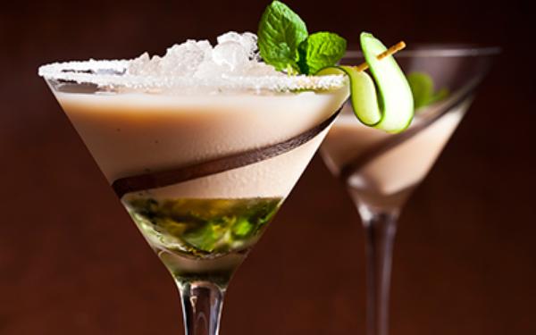 Amarula mint martini