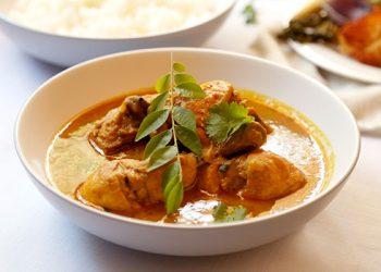 Bashiera's traditional muslim chicken curry