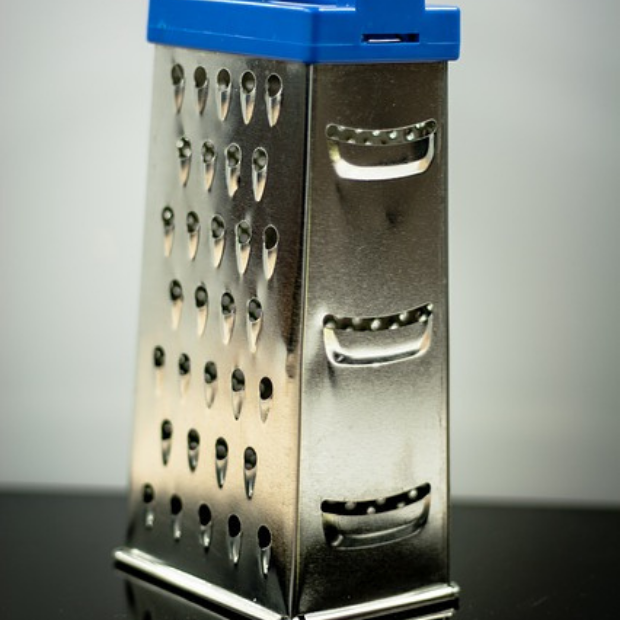 Oh, grate! Turns out all four sides of the grater serve a useful purpose