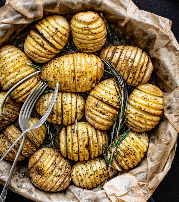 5 ways with the humble potato