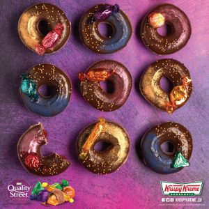 Doughnut alert: Krispy Kreme and Quality Street have just released limited edition mashup flavours