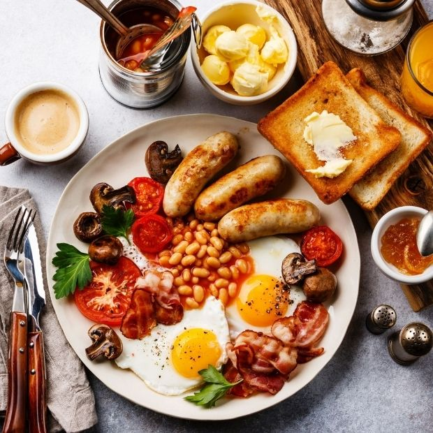 Here's how the full English breakfast earned its name