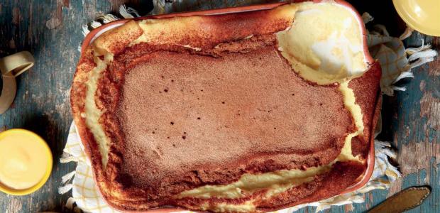 amasi baked custard pudding