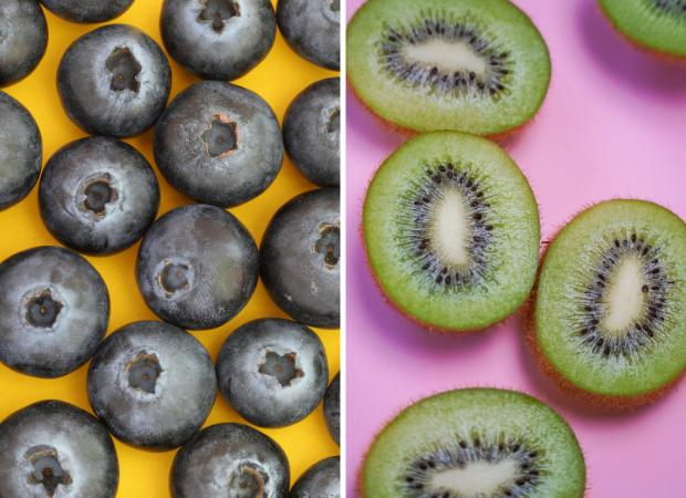 blueberries are berries
