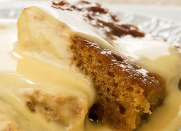 Microwave malva pudding