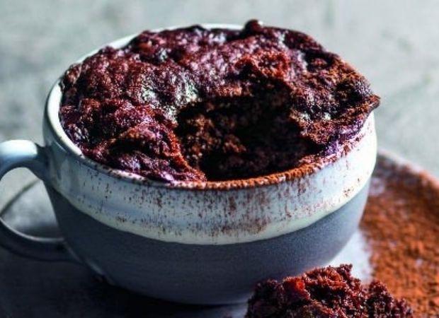 Chocolate coffee mug cake