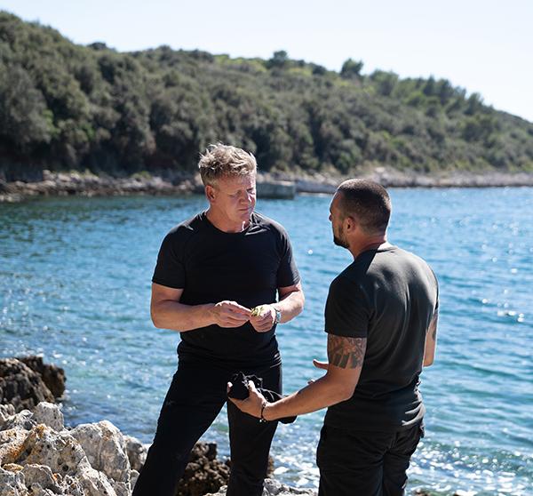 Gordon Ramsay in Croatia