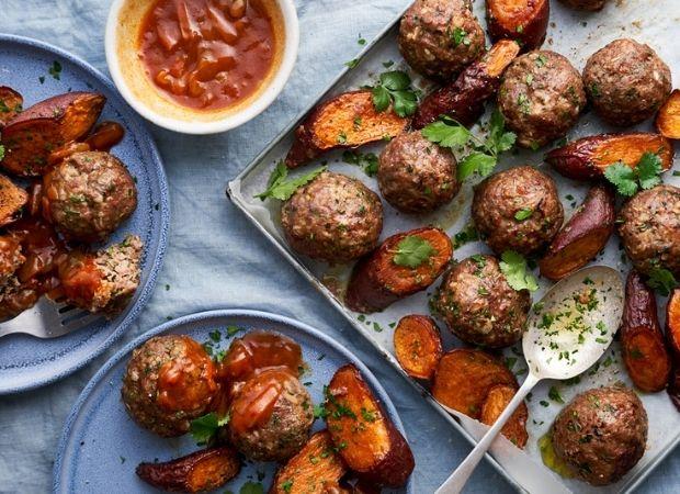 Roasted-lamb-meatballs